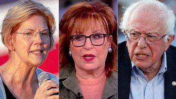 Joy Behar says she'd like to see Elizabeth Warren 'put Bernie in a headlock'