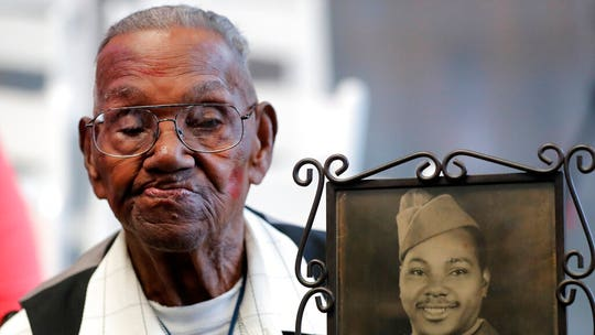 Oldest living American WWII veteran celebrates 110th birthday