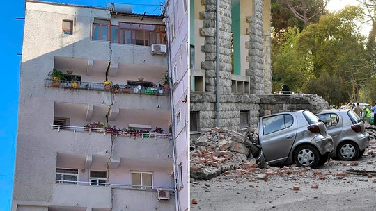 5.8 magnitude earthquake strikes Albania, injures 105 fleeing cracking homes, officials say