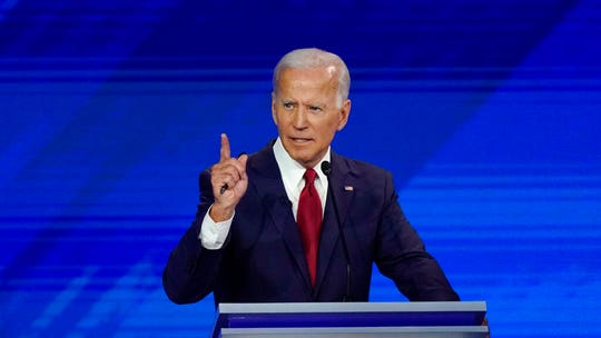 Fox News Poll: Biden at new low in Democratic primary race