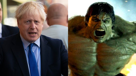 Boris Johnson compares Britain to the Incredible Hulk amidst Brexit battle