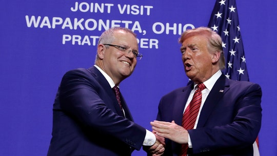 Trump visits Ohio factory with Australia's prime minister, touts economy