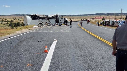 Bus driver in Utah crash that killed 4 Chinese was first trip