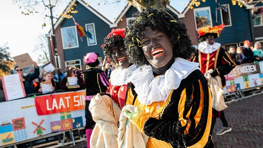 Dutch blackface holiday characters to get 'sooty faces' amid public backlash: report