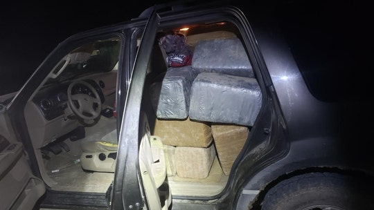Abandoned SUV in Texas had 1,127 pounds of marijuana inside, driver left wallet in vehicle, sheriff's office says