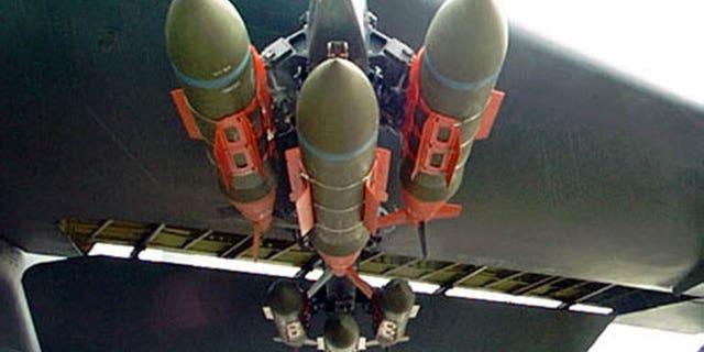 GBU-31 munitions. (U.S. Air Force)