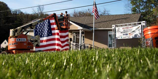 The Stephen Siller Tunnel to Towers Foundation's Gold Star Family Home Program gives 100-percent mortgage-frees home to Gold Star families. (Courtesy of Tunnel to Towers Foundation)