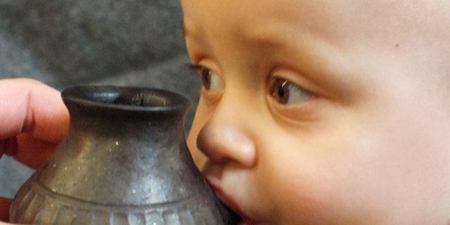 September: prehistoric baby bottles