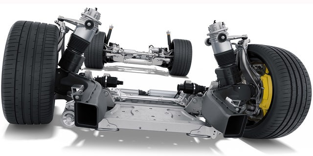 Westlake Legal Group 9e1e0ec4-tay7 All-electric Porsche Taycan debuts as the world's most powerful sedan Gary Gastelu fox-news/auto/make/porsche fox-news/auto/attributes/innovations fox-news/auto/attributes/electric fox news fnc/auto fnc article 7af988aa-2e49-5cc4-a44b-eabcebd63e40