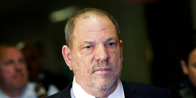 Harvey Weinstein enters State Supreme Court in New York. Weinstein's lawyers want the trial over the sexual assault case against the disgraced movie mogul moved from New York City to Long Island or upstate New York because of a blizzard of pretrial publicity. An appeals court could rule on the request as early as Monday, Aug. 26, 2019.