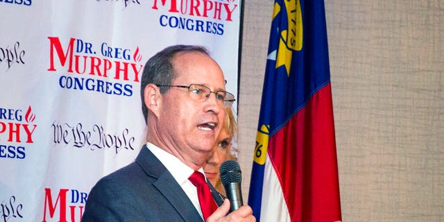 Greg Murphy was elected to Congress from North Carolina's 3rd District Tuesday. (Molly Urbina/The Daily Reflector via AP, File)