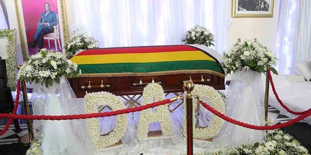 Westlake Legal Group AP19255322793175 Mugabe family at odds with Zimbabwe government over late leader's funeral, burial Lucia Suarez Sang fox-news/world/world-regions/africa fox news fnc/world fnc db1876fa-649b-5abf-9287-2292ff029096 article