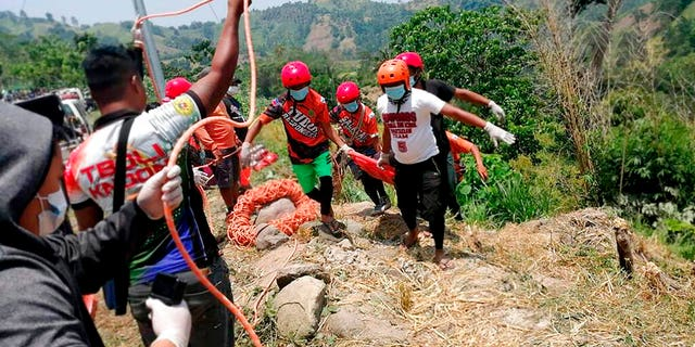 Provincial police chief Joel Limson said the truck was negotiating a downhill road in Tboli town in South Cotabato province when its brakes apparently failed and plummeted down a ravine, pinning 15 people to death. Five other victims later died in hospitals.