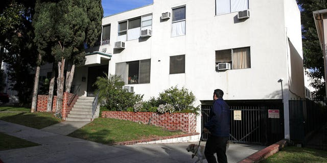 A Jan. 8 photo of the building housing the apartment of Ed Buck in West Hollywood, Calif. (AP Photo/Jae C. Hong, File)
