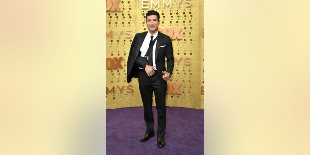 Mario Lopez arriving at the 71st Primetime Emmy Awards on Sunday at the Microsoft Theater in Los Angeles. (Photo by Richard Shotwell/Invision/AP)