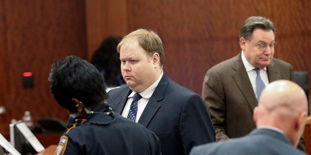Ronald Lee Haskell in court. (Steve Gonzales/Houston Chronicle via AP, File)