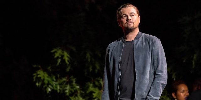 Leonardo DiCaprio speaks at the 2019 Global Citizen Festival in Central Park on Saturday, Sept. 28, 2019, in New York.