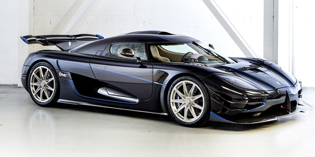 Swedish automaker Koenigsegg built just seven examples of the One:1, which has an estimated top speed of 273 mph.