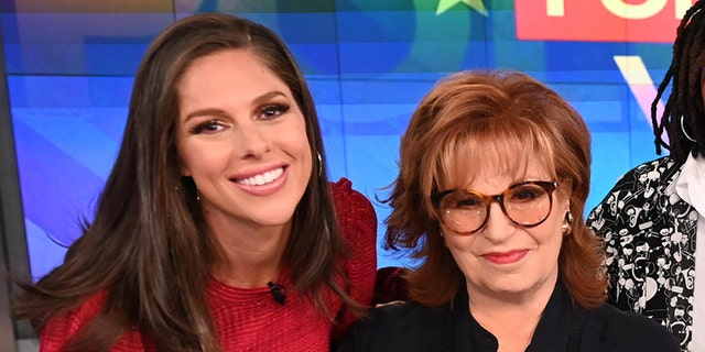 "Abby Huntsman announced she won't be co-hosting ""The View"" alongside Joy Behar any longer. (Getty Images)"