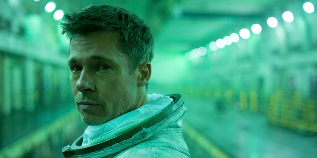 "This image released by 20th Century Fox shows Brad Pitt in a scene from ""Ad Astra,"" in theaters on Sept. 20."