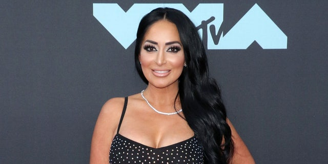 Angelina Pivarnick, 33, pictured here at the 2019 MTV Video Music Awards, filed a federal lawsuit Monday claiming she was sexually harassed while working as an EMT on Staten Island.