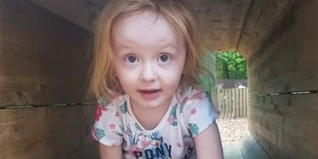 Aoife, 3, died of germ cell cancer.