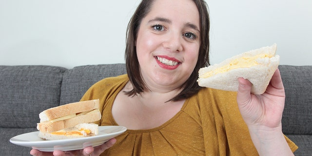 April Griffiths of Nuneaton, Warwickshire, England recently discussed the unusual dietary regime she's maintained for nearly three decades and how she's managed to survive for nearly three decades on cheese, bread and chips alone.