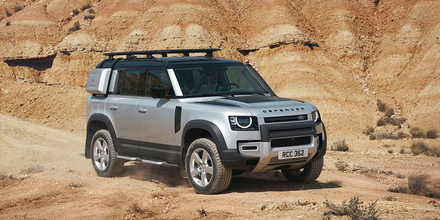 The Land Rover Defender returns with modern styling and tech