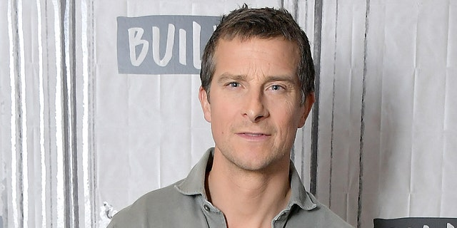"Bear Grylls visits Build to discuss the series ""Hostile Planet"" at Build Studio on March 28, 2019 in New York City."
