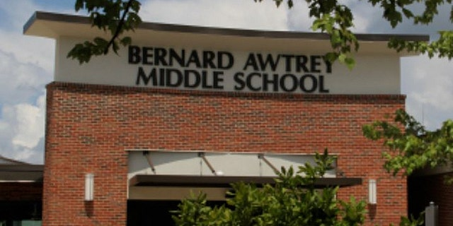 A substitute teacher at Bernard Awtrey Middle School has been fired, the district says, after writing a list categorizing students as either 'angels' or 'devils'.
