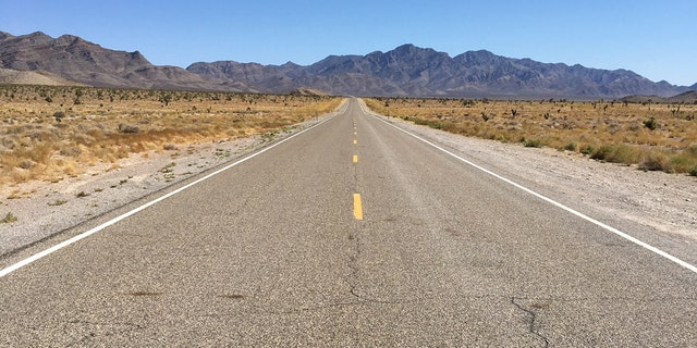 "Nevada State Route 375, also known as the ""Extraterrestrial Highway,"" is an isolated highway about 100 miles north of Las Vegas."