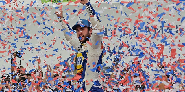 Westlake Legal Group CHASE2 Chase Elliott wins NASCAR Charlotte 'roval' playoff race fox-news/auto/nascar fox-news/auto/attributes/racing fnc/auto fnc Associated Press article 55e1d109-bb5e-5325-8ee1-dc2a07df43ce