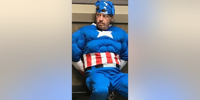 Westlake Legal Group Captain-America-Clarksdale-Police-Department Mississippi man in Captain America costume nabbed during early morning burglary attempt: cops Robert Gearty fox-news/us/us-regions/southeast/mississippi fox-news/us/crime/robbery-theft fox news fnc/us fnc article 2a47cfed-96ef-58da-820d-86bf2a78336b
