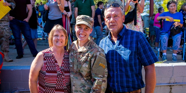 Westlake Legal Group Chelsey-Hibsch-2 First female US Airman earns Ranger tab Melissa Leon fox-news/us/us-regions/southeast/georgia fox-news/us/personal-freedoms/proud-american fox-news/us/military/honors fox-news/us/military/army fox-news/us/military/air-force fox news fnc/us fnc article 974feb83-41aa-527f-bee1-9af829f8f3cf