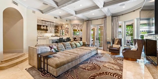 Kaley Cuoco recently slashed the asking price of the six-bedroom, nine-bathroom, Mediterranean-inspired mansion in LA's Tarzana neighborhood to $4.9 million