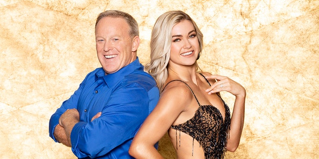 Spicer is paired with pro, Lindsay Arnold.