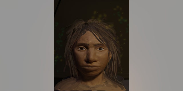Sketch of a Denisovan teen. (Maayan Harel)
