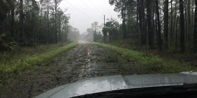 The South Carolina Highway Patrol's Gary Miller said that debris was covering the roads in any places across Beaufort County.