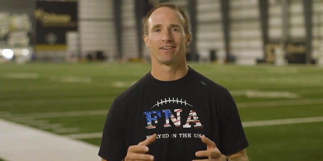 New Orleans Saints quarterback Drew Brees shared one of his favorite Bible verses as he encourages kids to bring their Bibles to school Oct. 3 as a way to live out their Christian faith.