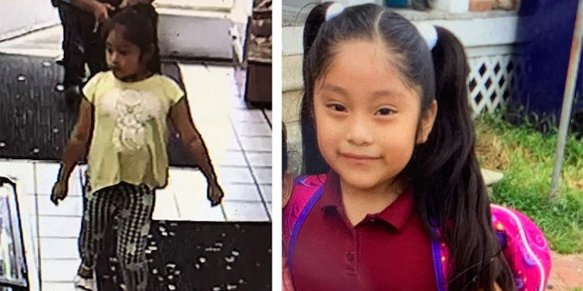 Dulce Maria Alavez, a 5-year-old girl from Bridgeton City, was last seen wearing a yellow shirt (left).