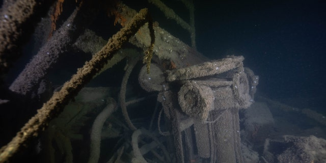 Westlake Legal Group Eagle566 Last US warship sunk by German sub during WWII reveals its secrets in eerie images from seabed James Rogers fox-news/us/personal-freedoms/proud-american fox-news/topic/world-war-two fox-news/tech/topics/us-navy fox-news/science/archaeology/history fox-news/columns/digging-history fox news fnc/science fnc d9ebd37b-8331-5779-8025-0299b8eb7d3d article