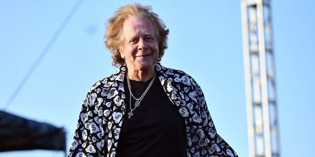 Singer Eddie Money performs onstage during the 2018 High Tide Beach Party at Huntington State Beach.