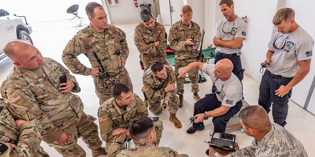 Florida National Guard forces prepare for potential Dorian relief missions. (Ching Oettel)