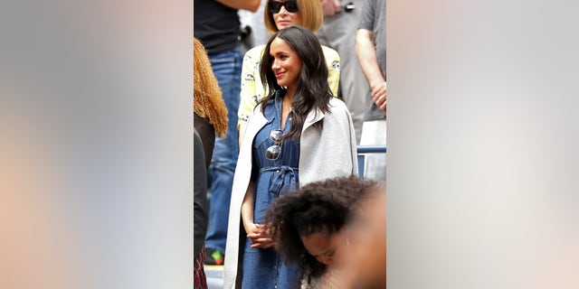 Westlake Legal Group GettyImages-1172995861 Meghan Markle cheers on friend Serena Williams in US Open final Jessica Napoli fox-news/world/personalities/british-royals fox-news/sports/tennis/us-open-tennis fox-news/person/serena-williams fox-news/entertainment/celebrity-news/meghan-markle fox news fnc/entertainment fnc f72e2e2b-7bbd-528a-82df-d9717a8dd8ae article