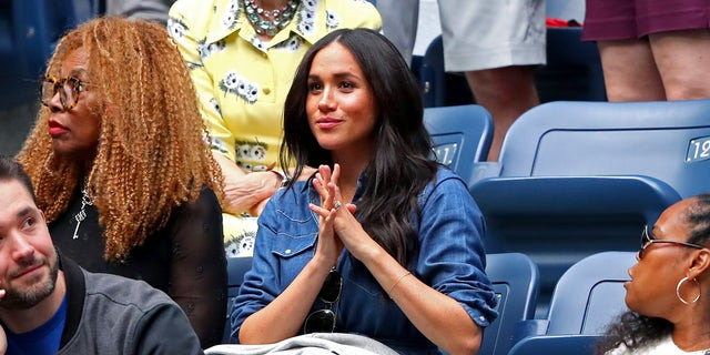 Westlake Legal Group GettyImages-1172995920 Meghan Markle cheers on friend Serena Williams in US Open final Jessica Napoli fox-news/world/personalities/british-royals fox-news/sports/tennis/us-open-tennis fox-news/person/serena-williams fox-news/entertainment/celebrity-news/meghan-markle fox news fnc/entertainment fnc f72e2e2b-7bbd-528a-82df-d9717a8dd8ae article