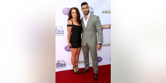 Britney Spears and Sam Asghari stepped out on Friday to attend the 2019 Daytime Beauty Awards in Los Angeles, Calif. Asghari was an honoree at the event and received the Outstanding Achievement in Fitness award. (Photo by Tommaso Boddi/Getty Images)