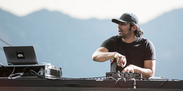​​​​​​​Jai Wolf performs in San Bernardino, Calif., Aug. 6, 2017. (Getty Images)