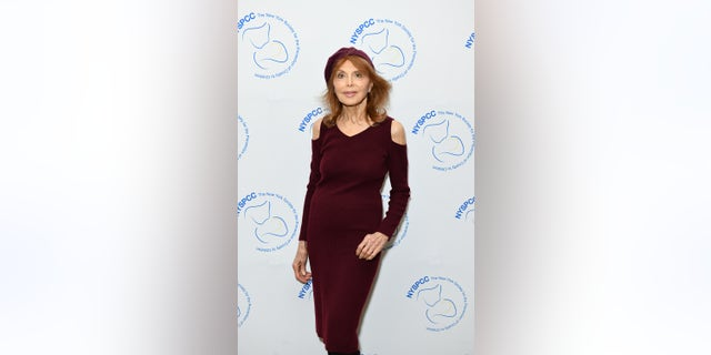 Tina Louise attending The New York Society for the Prevention of Cruelty to Children's 2018 Spring Luncheon at The Pierre Hotel in April 2018, in New York City.