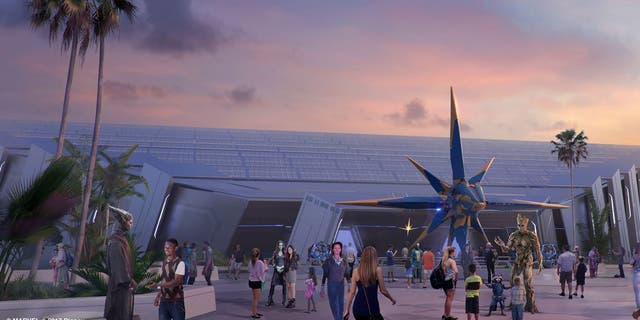 """Disney World claims the attraction will bring guests into the """"rockin' and action-packed world of Guardians of the Galaxy."""""""