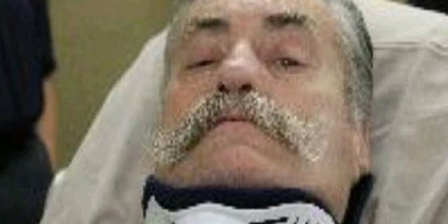 Henry Herbig, 65, was paralyzed when his alleged plot to kill his estranged wife backfired earlier this month.